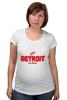 "Футболка для беременных ""Detroit Red Wings"" - хоккей, nhl, нхл, detroit red wings, детроит ред вингз"