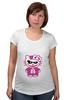 """Футболка для беременных """"Hello Kitty Joker"""" - hello kitty, joker, джокер, хелло китти"""