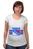 """Футболка для беременных """"Нью-Йорк Рейнджерс """" - хоккей, nhl, нхл, new york rangers, нью-йорк рейнджерс"""