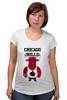 """Футболка для беременных """"Chicago Bulls"""" - баскетбол, bulls, chicago bulls, чикаго буллз, быки"""