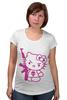"Футболка для беременных ""Hello Kitty AK-47"" - hello kitty, ak 47, angry kitty"