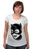 """Футболка для беременных """"Женщина-кошка (Catwoman)"""" - batman, бэтмен, женщина-кошка, catwoman, dc comics"""