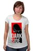 """Футболка для беременных """"Darth Vader Dark Side"""" - star wars, dark side, darth vader, звездные войны, дарт вейдер"""