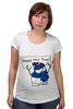 "Футболка для беременных ""Happy New Year! Bag"" - happy new year, новый год, new year, снеговик, snowman, 2015"