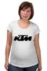 "Футболка для беременных ""KTM moto"" - motorcycle, bikes, ktm"