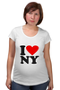 "Футболка для беременных ""i love NY"" - new york"