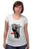 """Футболка для беременных """" Классный Слон"""" - слон, слоник, африканский слон, индийский слон"""