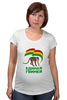 """Футболка для беременных """"Единая Гвинея"""" - смешно, политика, прикольные футболки, пжив"""