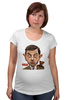 """Футболка для беременных """"Mr.Bean"""" - мистер бин, mr bean, актёр, роуэн аткинсон, rowan atkinson"""