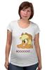 "Футболка для беременных ""boooooo"" - pony, mlp, applejack"