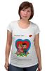 "Футболка для беременных ""love is..."" - любовь, love is"