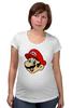 """Футболка для беременных """"Марио (Mario)"""" - nintendo, mario, mario bros, братья марио"""