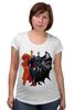 """Футболка для беременных """"Бэтмен/Batman"""" - супермен, batman, superman, бэтмен"""