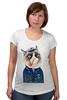 "Футболка для беременных ""kitty"" - cat, котэ, трубка, hipster, sailor, моряк"