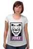 "Футболка для беременных ""Джокер (Joke)"" - joker, batman, джокер, бэтмен, obey"