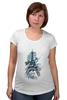 "Футболка для беременных ""Эйфелева башня"" - арт, city, париж, paris, eiffel tower"