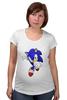"""Футболка для беременных """"Sonic"""" - соник, sonic, sega"""