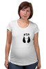 "Футболка для беременных ""Панда в Кармане"" - панда, panda, карман"
