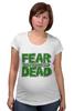 "Футболка для беременных ""Ходячие Мертвецы (The Walking Dead)"" - страх, fear, ходячие мертвецы, walking dead"