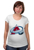"Футболка для беременных ""Colorado Avalanche"" - nhl, нхл, colorado avalanche"
