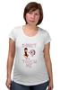 """Футболка для беременных """"donut touch me"""" - арт, смешные, еда, девушке, пончик, donut, do not"""