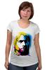 "Футболка для беременных ""Nirvana Kurt Cobain "" - nirvana, рок, kurt cobain, курт кобейн, нирвана"
