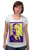 """Футболка для беременных """"Мой Путин"""" - россия, путин, президент, putin, кремль"""