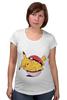 "Футболка для беременных ""Fat Pikachu"" - pokemon, покемон, пикачу, обжорство"