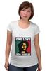 """Футболка для беременных """"Bob Marley """" - любовь, регги, боб марли, reggae, ska, jamaica"""