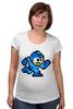 "Футболка для беременных ""Mega Man (8-bit)"" - 8-бит, 8-bit, mega man"