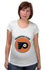 "Футболка для беременных ""Philadelphia Flyers"" - хоккей, nhl, нхл, филадельфия флайерз, philadelphia flyers"