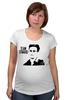 "Футболка для беременных ""Edward Snowden"" - эдвард сноуден, edward snowden, америка, россия, цру"