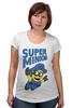 """Футболка для беременных """"Super Minion"""" - супер, миньон, minion"""