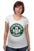 """Футболка для беременных """"Heisenberg Coffee (Breaking Bad)"""" - кофе, во все тяжкие, старбакс, heisenberg coffee"""