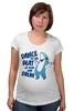 """Футболка для беременных """"Танцующая Акула"""" - мем, dance, left shark, левая акула, кэти перри"""
