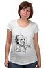 """Футболка для беременных """"Чарльз Буковски(Charles Bukowski)"""" - буковски, bukowski, чарльз буковски, charles bukowski"""