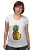 """Футболка для беременных """"ананас"""" - ананас, фрукт, pineapple"""