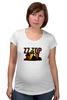 "Футболка для беременных ""ZZ TOP"" - крутые, old, blues, zztop, zz, sharp dressed man, ззтоп, старики, мощные"