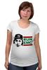 "Футболка для беременных ""RUN EMC"" - рэп, физика, эйнштейн, run dmc, альберт эйнштейн"
