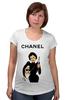 "Футболка для беременных ""Chanel"" - юмор, духи, бренд, fashion, коко шанель, brand, coco chanel, шанель, perfume, karl lagerfeld"