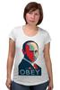 "Футболка для беременных ""Putin"" - россия, russia, путин, президент, putin"