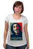 "Футболка для беременных ""Anonimus (Obey)"" - anonymous, аноним, hope, надежда"