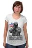 """Футболка для беременных """"Вежливость города берет!"""" - крым, вежливые люди, патриотическкие футболки"""