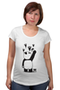 "Футболка для беременных ""Панда вандал"" - животные, панда, panda, wwf"