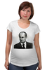 "Футболка для беременных ""Putin"" - россия, путин, президент, putin, president"