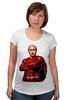 """Футболка для беременных """"Путин Суперчеловек"""" - путин, putin, суперчеловек"""