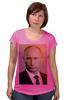 """Футболка для беременных """"Путин-Арт"""" - россия, путин, президент, putin, кремль"""