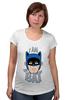 """Футболка для беременных """"I Am the Bat"""" - комиксы, batman, герой, бэтмен"""