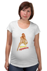 "Футболка для беременных ""Blonde dynamite                "" - девушка, пин-ап, рыжая, pin-up"