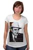 """Футболка для беременных """"Аль Капоне"""" - череп, пистолет, авторские майки, ny, кости, шляпа, пуля, chicago, нью йорк, гангстер"""
